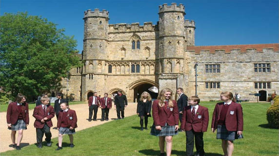 Battle Abbey School: Battle, East Sussex,UK